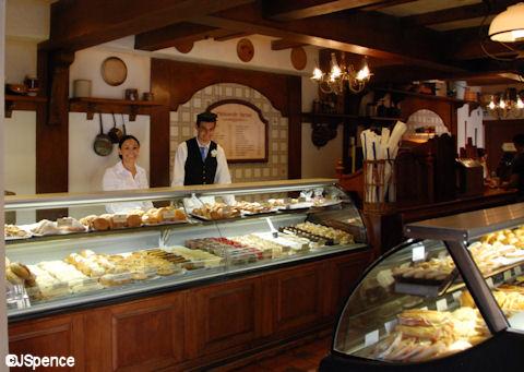 Boulangerie Patisserie Interior