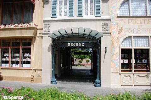 Arcase Entrance