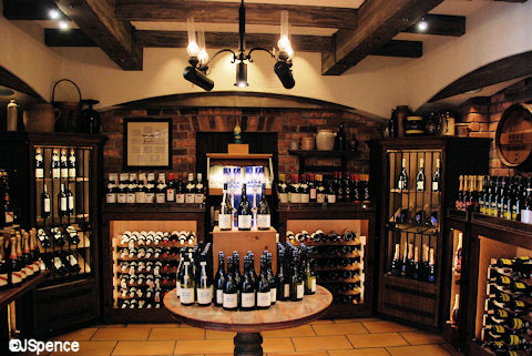 Les Vins de France Wine Room