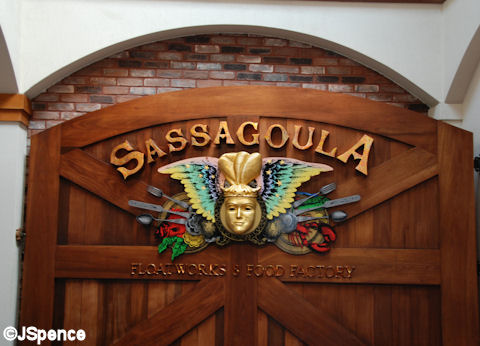 Then head for Sassagoula Floatworks & Food Factory