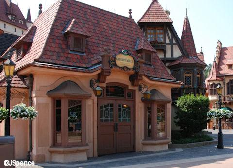 Karamell Küche Exterior