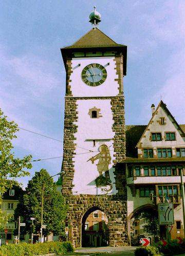 Freiburg Clock Tower