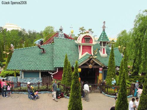 Gadget's Go Coaster Tokyo Disneyland