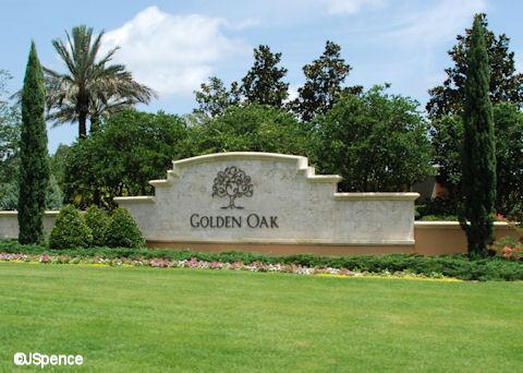 Golden Oak Entrance