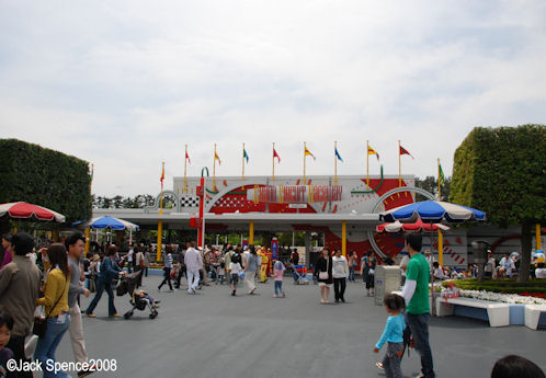 Grand Circuit Raceway Tokyo Disneyland