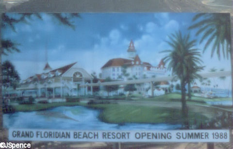 Grand Floridian Under Consturction