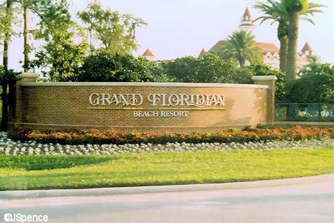 Grand Floridian Entrance