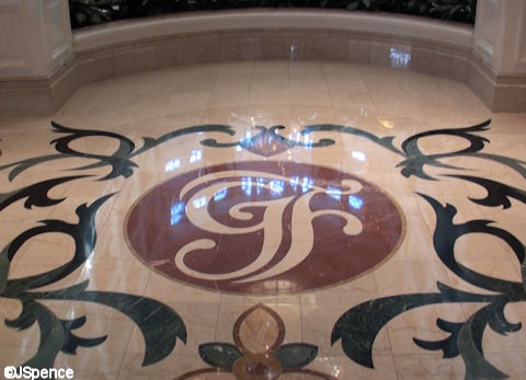 Grand Floridian Logo in Marble