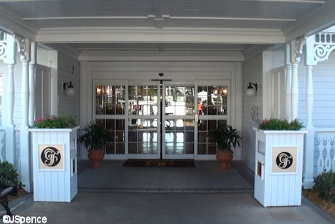 Lodge Building Entrance