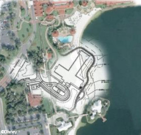 Grand Floridian DVC Concept Art