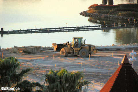 Grand Floridian DVC Under Construction