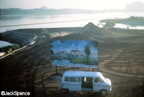 Grand Floridian Construction