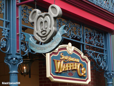 Great American Waffle House at Tokyo Disneyland