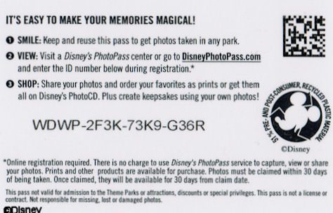PhotoPass Back