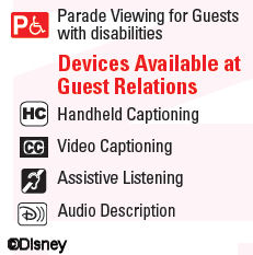 Devices Available at Guest Relations
