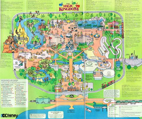 Walt Disney World Guide Maps - AllEars.Net