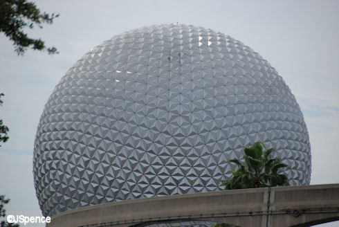 Spaceship Earth - Zoomed In