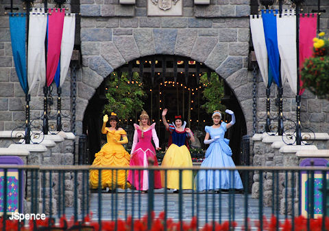 Princesses at the Castle