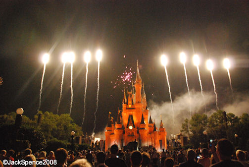 Mickey's Not So Scary Halloween Party Happy HalloWishes Fireworks