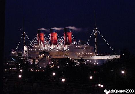 S.S. Columbia New York Harbor American Waterfront Tokyo DisneySea