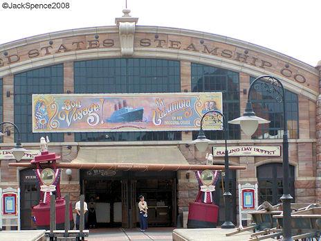Freight Terminal New York Harbor American Waterfront Tokyo DisneySea
