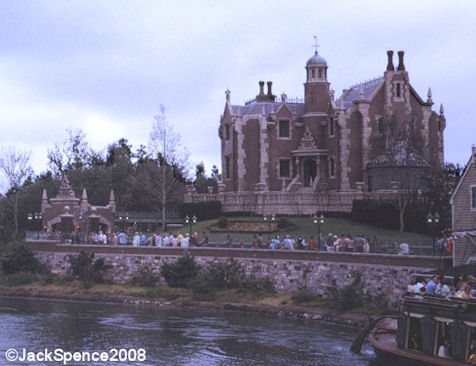 Haunted Mansion Magic Kingdom 1973