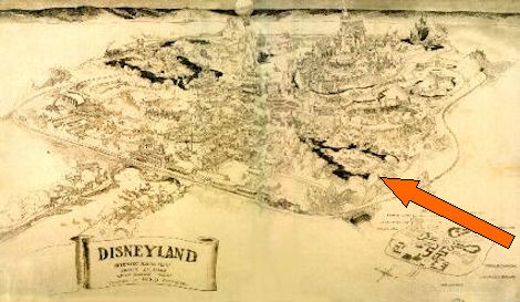 Herb Ryman Concept Drawing Disneyland