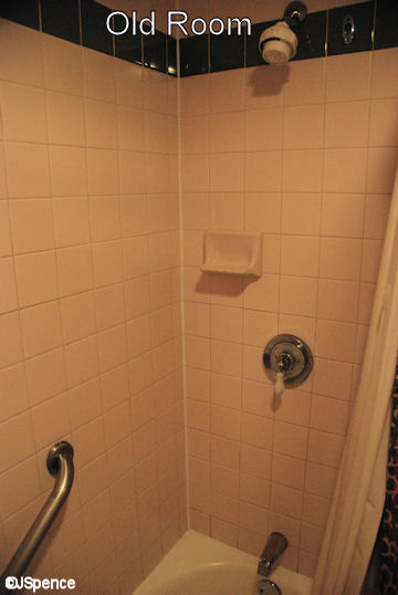 Shower Tile and Head