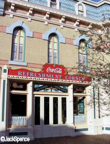 Disneyland Coke Corner