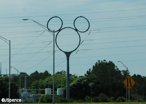 Mickey Mouse Transmission Tower