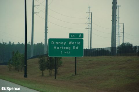Disney World off-ramp