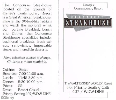 Concourse Steakhouse