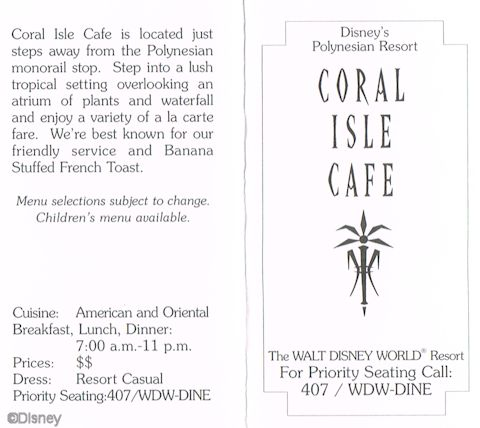Coral Isle Café