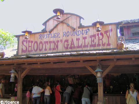 Rustler Roundup Shootin' Gallery