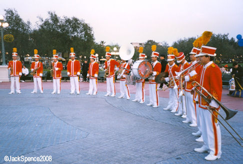 Disneyland Band at Tokyo Disneyland
