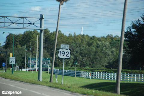 US192 Roadsign