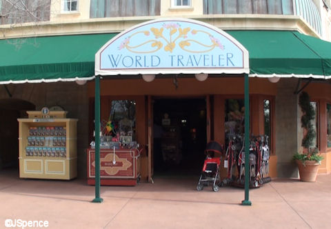 World Traveler Shop Exterior