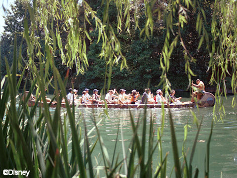 Canoe on Rivers of America