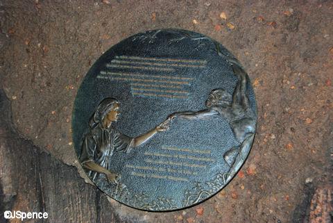 Jane Goodall Plaque