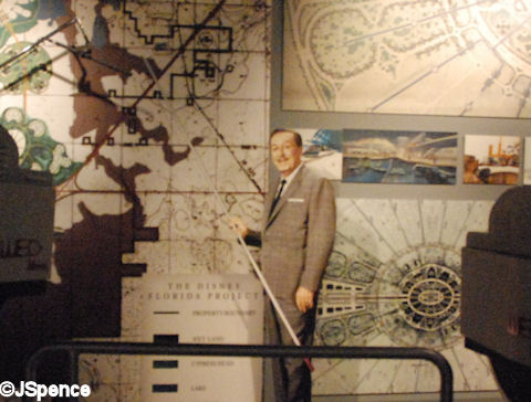 Walt Discussing Walt Disney World