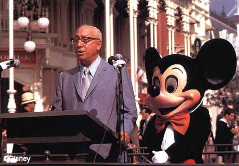 Roy Disney's Dedication Speech