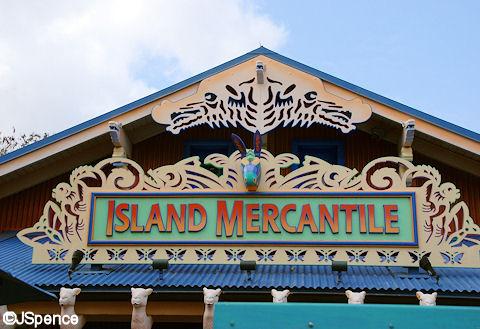Island Mercantile Sign
