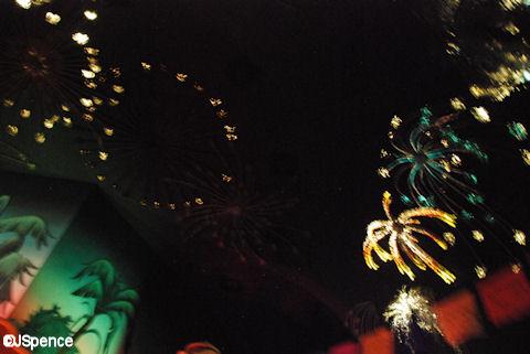 Mexico Pavilion Fireworks