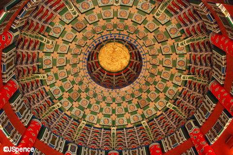 Hall of Prayer for Good Harvests Ceiling