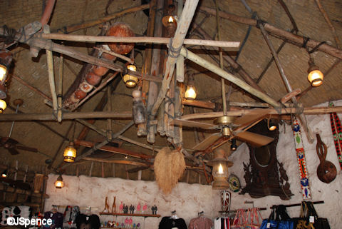 Village Traders Ceiling