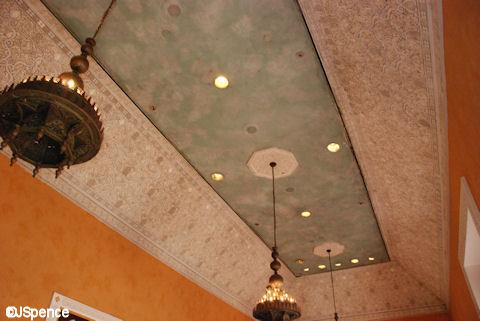 Morocco Pavilion Ceiling