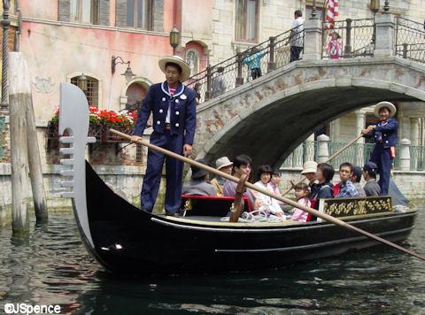 Tokyo Disney Sea Gondola