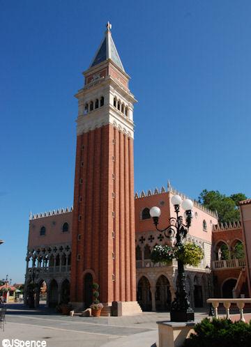 Italy Pavilion Campanile