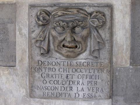 Venice Informant's Face