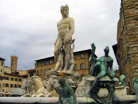 Florence Neptune Fountain